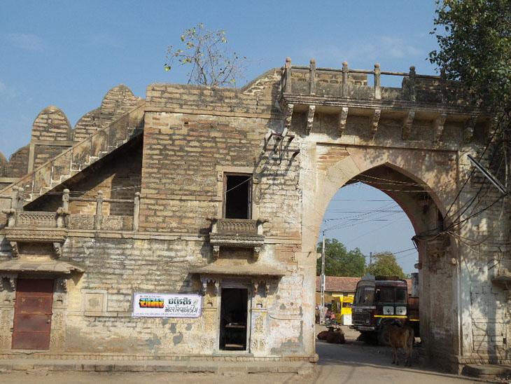 ધ્રાંગધ્રામાંઆવેલીઐતિહાસિક ઈમારત. - Divya Bhaskar