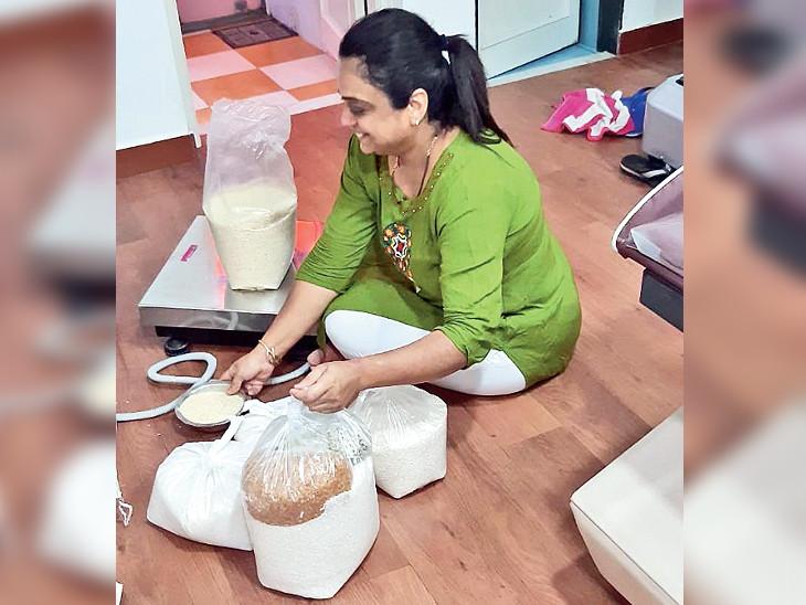 રાજકોટનાં મનિષાબેનની તસવીર - Divya Bhaskar