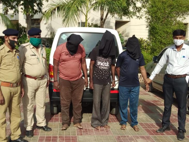 સિધ્ધપુર પોલીસ 3 આરોપીને અમદાવાદથી પકડી લીધી હતી. - Divya Bhaskar