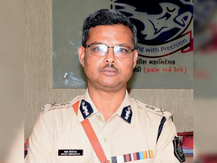 અમદાવાદના પોલીસ કમિશનર સંજય શ્રીવાસ્તવની તસવીર - Divya Bhaskar