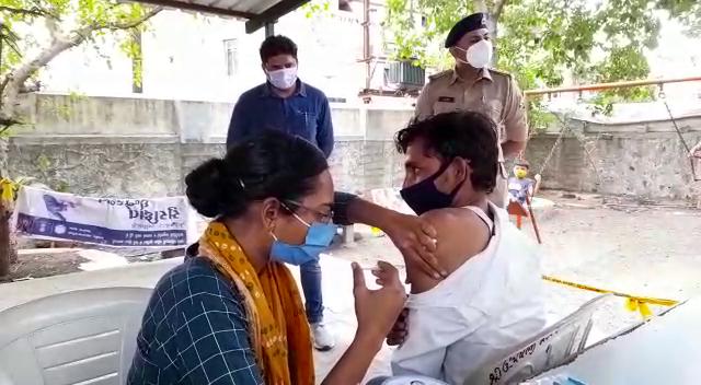 રસીકરણ કેમ્પનુ આયોજન