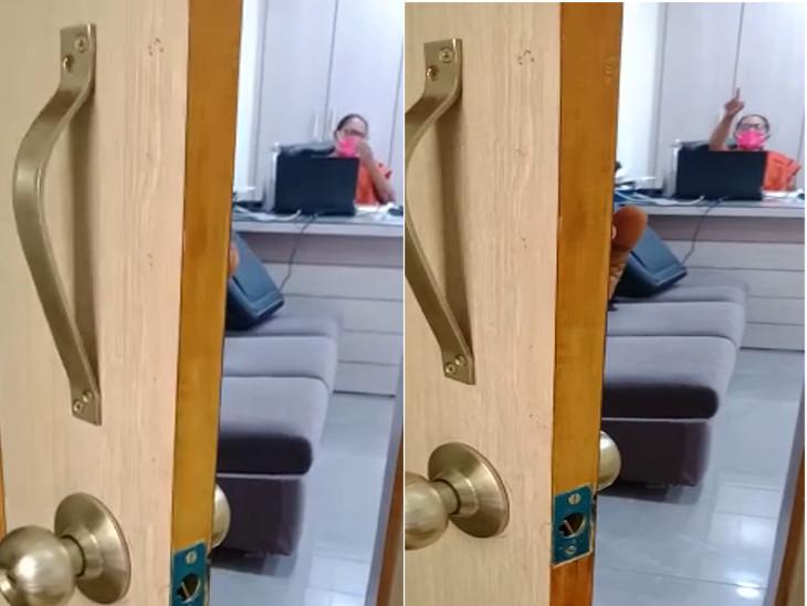 વિદ્યાર્થીને આચાર્યે ઓફિસમાં પ્રવેશબંધી ફરમાવી