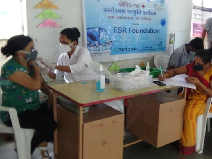 વડોદરાના નાનકડા ગામે સંપૂર્ણ રસીકરણની દિશા દર્શાવી છે - Divya Bhaskar