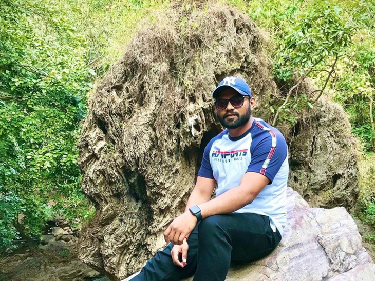 રીષભ પટેલ,રહીશ - Divya Bhaskar