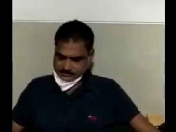 નશાની હાલતમાં હોસ્પિટલમાં ફરજ બજાવતા ઝડપાયેલો તબીબ જિતુભાઇ ગુલાબભાઇ પટેલ. - Divya Bhaskar