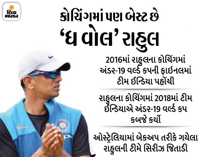રાહુલ દ્રવિડ જ ભારતીય ટીમના કોચ હશે; 13 જુલાઈથી વન ડે અને T20 સિરીઝ રમાશે|ક્રિકેટ,Cricket - Divya Bhaskar