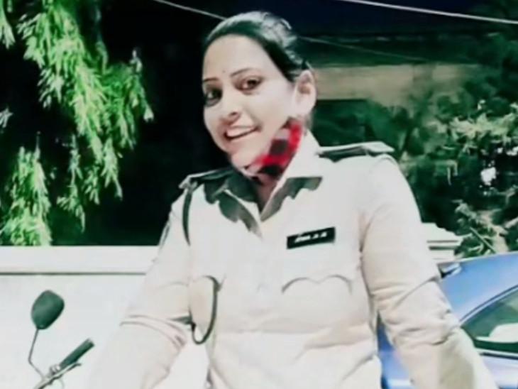 સુરતના મહિલા હોમગાર્ડને વીડિયો બનાવી સોશિયલ મીડિયામાં મૂકવું ભારે પડ્યું, ડિપાર્ટમેન્ટે સસ્પેન્ડ કર્યા|સુરત,Surat - Divya Bhaskar