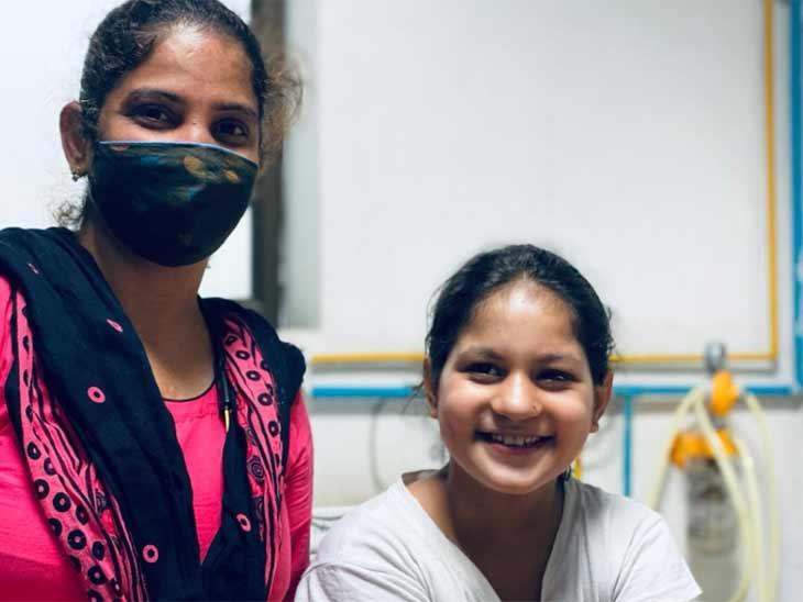 12 દિવસ સુધી કિર્તીએ સિવિલ હોસ્પિટલમાં સારવાર લઈ 3 બીમારીને હરાવી - Divya Bhaskar