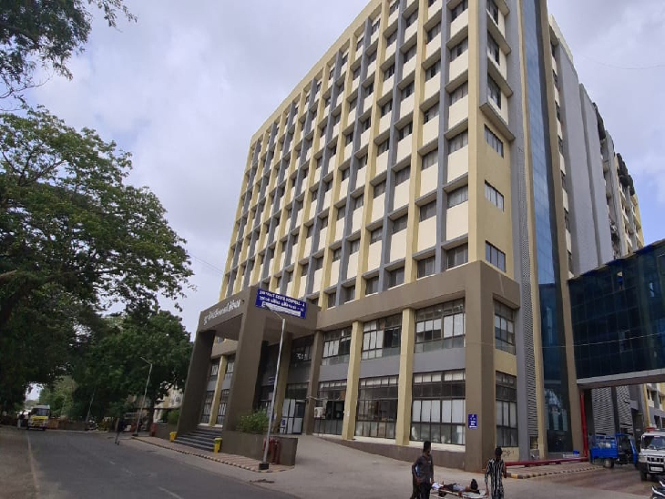 જામનગરની સરકારી કોવિડ હોસ્પિટલ