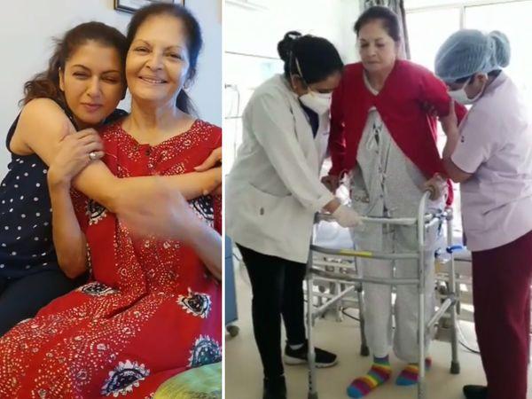 ગયું વર્ષ મુશ્કેલીભર્યું રહ્યું, મમ્મીને કોરોના થયો, ઘૂંટણની સર્જરી થઈ; ડાયબિટીઝ જેવી બીમારીઓ તો હતી જ|બોલિવૂડ,Bollywood - Divya Bhaskar
