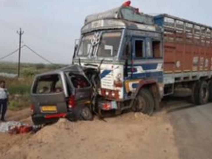 વહેલી સવારે થયેલાં અકસ્માતમાં નવ લોકોએ જીવ ગુમાવ્યો - Divya Bhaskar