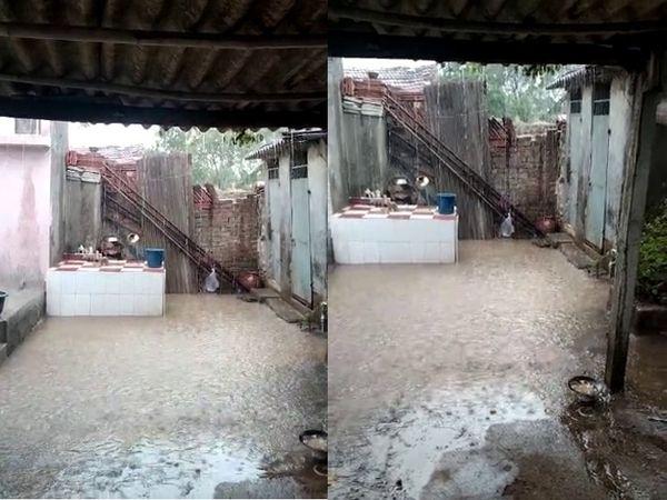 જેતપુર પંથકમાં ભારે પવન-ગાજવીજ સાથે વરસાદ વરસ્યો