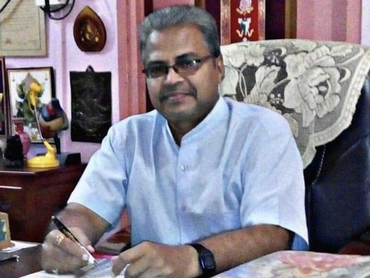 નેશનલ કોંગ્રેસ સોશિયલ મીડિયા કન્વીનર ડો. ધીરેન પટેલ(ફાઇલ તસવીર) - Divya Bhaskar