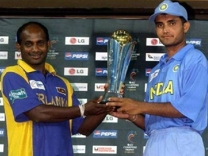 2002 ચેમ્પિયન્સ ટ્રોફીમાં ભારત અને શ્રીલંકાને સંયુક્ત વિજેતા જાહેર કરાયા છે.