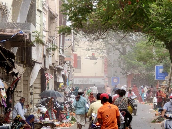 દાહોદમાં અચાનક વાવાઝોડું ફૂંકાયું ધાનપુર તાલુકામાં ઝરમર વરસાદ દાહોદ,Dahod - Divya Bhaskar