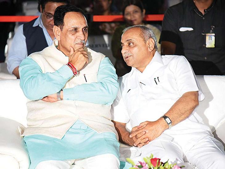 મુખ્યમંત્રી અને નાયબ મુખ્યમંત્રીની ફાઈલ તસવીર. - Divya Bhaskar