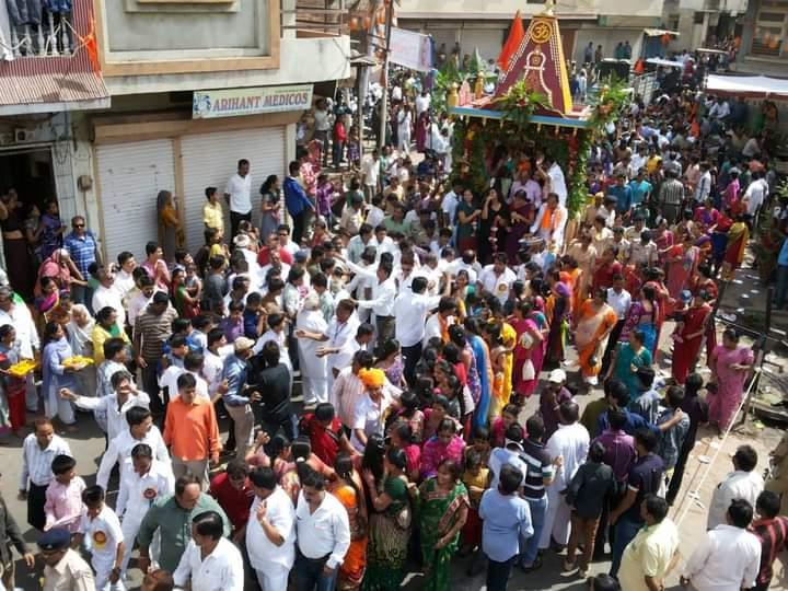 દાહોદમાં ભગવાન જગન્નાથજીની 15મી રથયાત્રા કાઢવા માટે આયોજકોએ પરવાનગી આપવા એસડીએમને અરજી કરી દાહોદ,Dahod - Divya Bhaskar