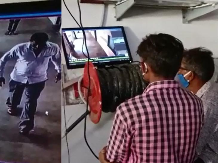 વડોદરાની સયાજી હોસ્પિટલમાં પત્નીની સારવાર માટે આવેલા પતિ અને પુત્ર સાથે ઓપરેશન કરવાના બહાને 5500 રૂપિયાની ઠગાઇ, આરોપી CCTVમાં કેદ|વડોદરા,Vadodara - Divya Bhaskar