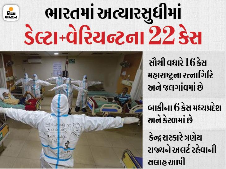 અમેરિકામાં કોરોના વિરિદ્ધ લડાઈમાં ડેલ્ટા વેરિયન્ટ સૌથી મોટું જોખમ, ભારતમાં ડેલ્ટા પ્લસ લાવી શકે છે ત્રીજી લહેર|ઈન્ડિયા,National - Divya Bhaskar
