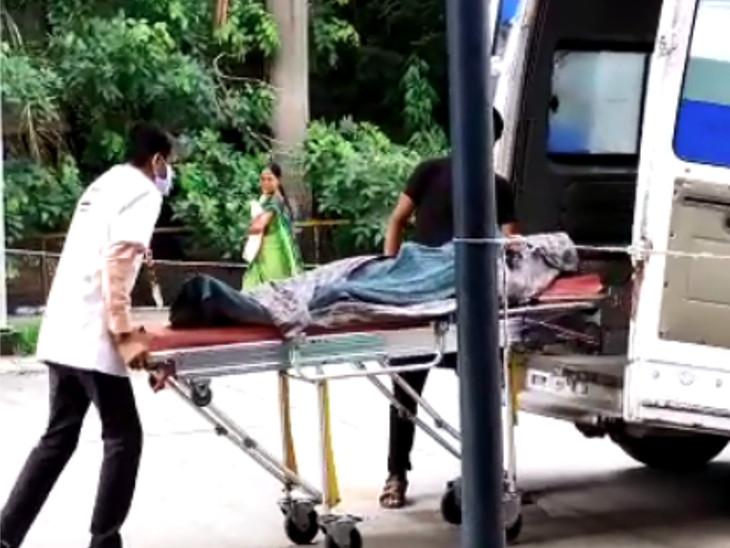 108મા્ સિવિલ ખસેડાતા યુવકને મૃત જાહેર કરાયો હતો.