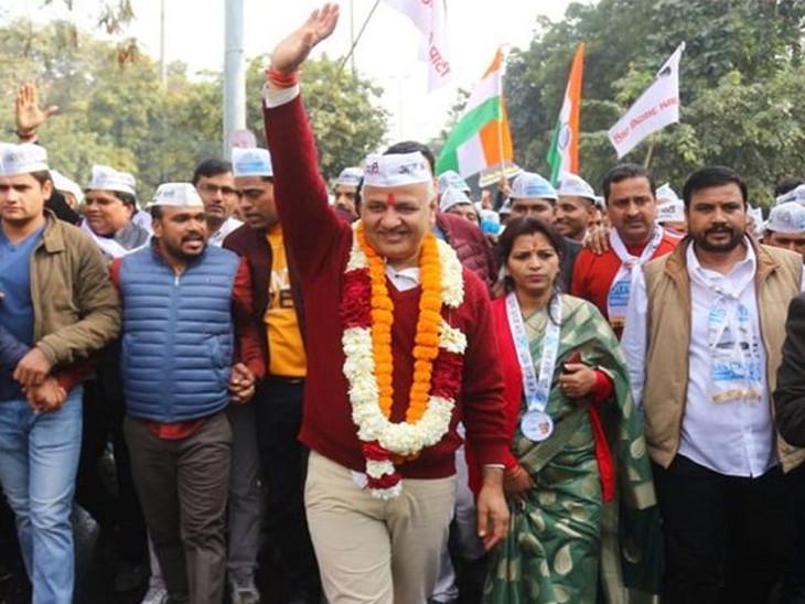 તબિયત બગડતા દિલ્હીના નાયબ મુખ્યમંત્રી મનિષ સિસોદીયાની સુરતની મુલાકાત રદ, ટ્વીટ કરી કહ્યું-સાજો થતા જ ગુજરાતને મળવા આવીશ|સુરત,Surat - Divya Bhaskar