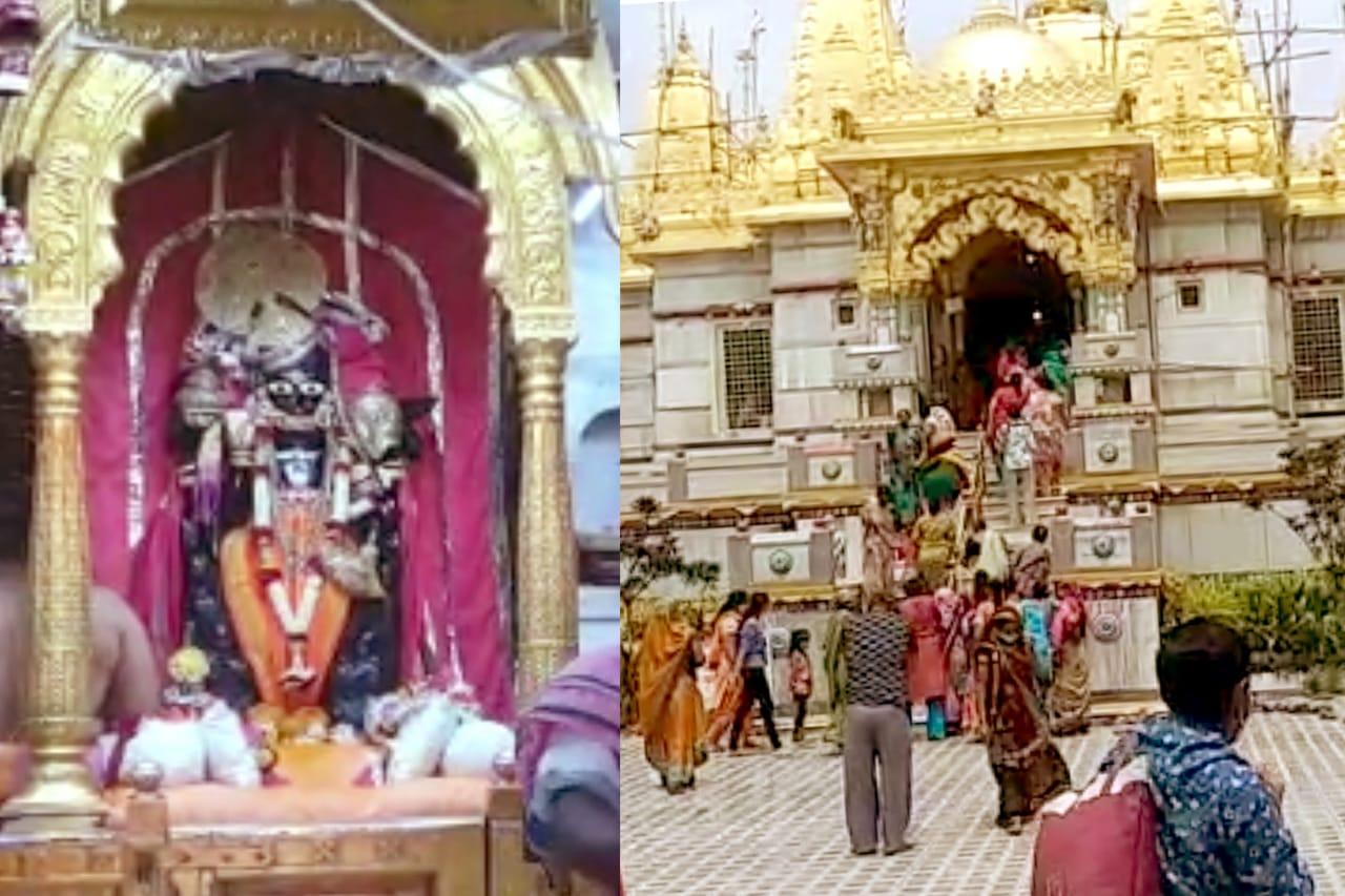 યાત્રાધામ ડાકોર અને વડતાલમાં પૂનમે દર્શન કરવા ભક્તો ઉમટ્યા - Divya Bhaskar