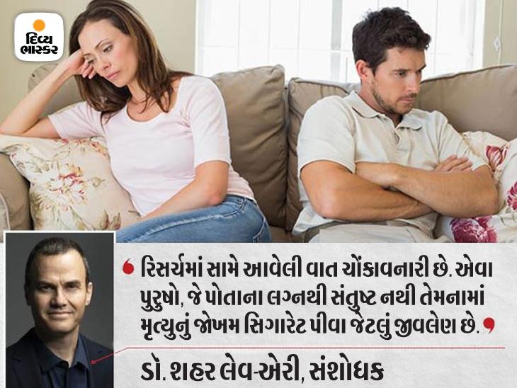 લગ્ન જીવનમાં તણાવ સિગારેટનાં જોખમ જેટલો જીવલેણ, આવા પુરુષોમાં સ્ટ્રોકથી મૃત્યુનું જોખમ 69%|હેલ્થ,Health - Divya Bhaskar