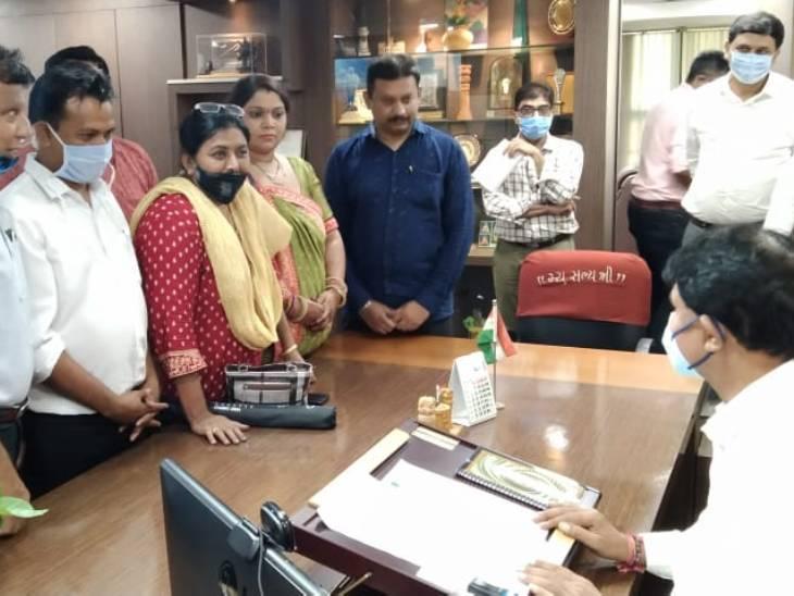 AMCમાં ઓવૈસીની પાર્ટી AIMIM વિરોધ પક્ષ તરીકે બેસવા તૈયાર,સાત કોર્પોરેટરોએ મેયરને રજુઆત કરી|અમદાવાદ,Ahmedabad - Divya Bhaskar