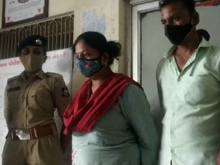 આરોપી ભાઈ બહેનને ઈન્દોરથી પોલીસ પકડી લાવી - Divya Bhaskar
