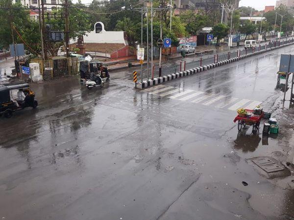 રાજ્યના 20 જિલ્લામાં વરસાદ થયો. - Divya Bhaskar