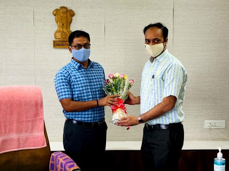 અશાંતધારો હોય કે લેન્ડગ્રેબિંગ ખોટું નહીં થવા દઉં : કલેક્ટર ઓક|સુરત,Surat - Divya Bhaskar