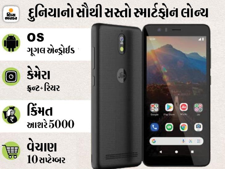 રિલાયન્સ-ગૂગલે દુનિયાનો સૌથી સસ્તો સ્માર્ટફોન 'જિયોફોન નેક્સ્ટ' લોન્ચ કર્યો, જાણો ગૂગલના પિક્સલ ફોન પર અને અન્ય કંપનીઓ પર શું અસર થશે|ગેજેટ,Gadgets - Divya Bhaskar