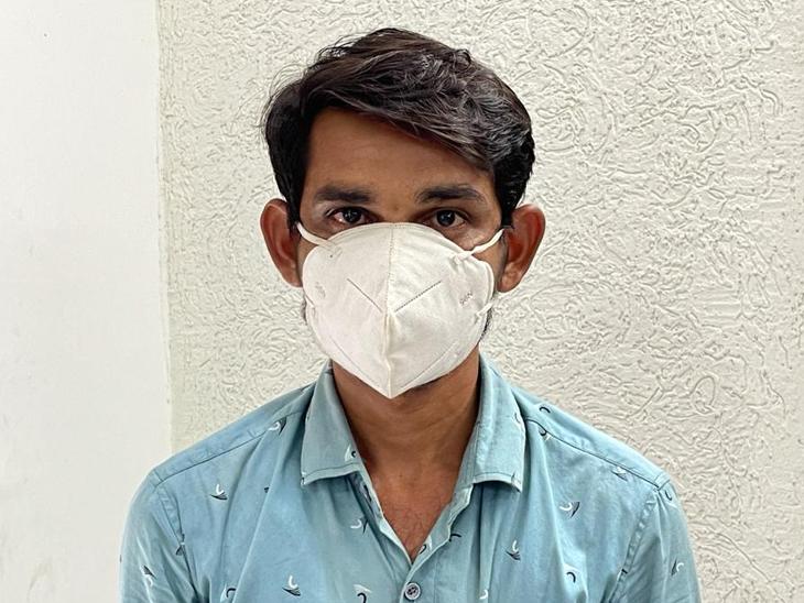 આરોપી  જગદીશ કેસરીસિંહ સિંધા. - Divya Bhaskar