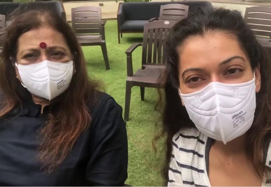 20 જૂને સોસાયટીના સભ્યોની મીટિંગમાં શું બન્યું હતું? એક્ટ્રેસે સો.મીડિયોમાં પોસ્ટ કરેલો વીડિયો સામે આવ્યો|અમદાવાદ,Ahmedabad - Divya Bhaskar