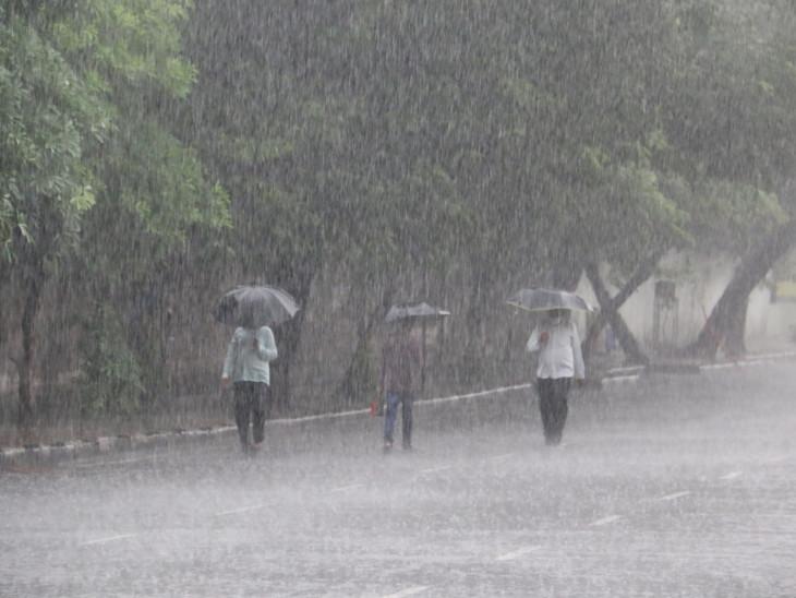 સુરતમાં રાત્રે 3 ઈંચ વરસાદ ખાબક્યો.