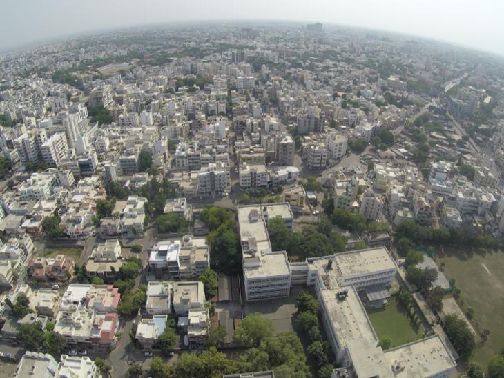 રાજકોટ શહેરની ફાઇલ તસવીર. - Divya Bhaskar