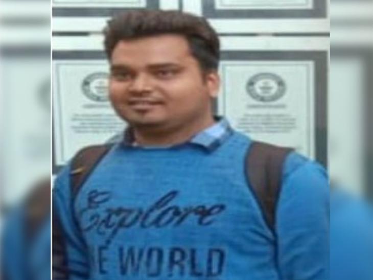 મૃતક વિદ્યાર્થી મુકેશની તસવીર - Divya Bhaskar