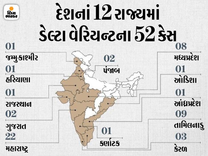 ટેસ્ટિંગ, ટ્રેકિંગ અને વેક્સિનેશન વધારો, કન્ટેન્મેન્ટમાં બેદરકારી ના રાખો; 8 રાજ્યના 10 જિલ્લામાં અલર્ટ ઈન્ડિયા,National - Divya Bhaskar