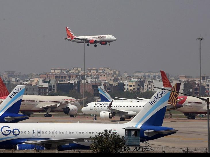 એરપોર્ટ પર એક જ રનવે પર 2 વિમાન સામસામે આવી ગયા હતા