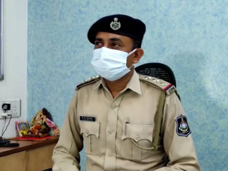 મણીનગર પોલીસ સ્ટેશનના PI બી.બી. ગોયલ