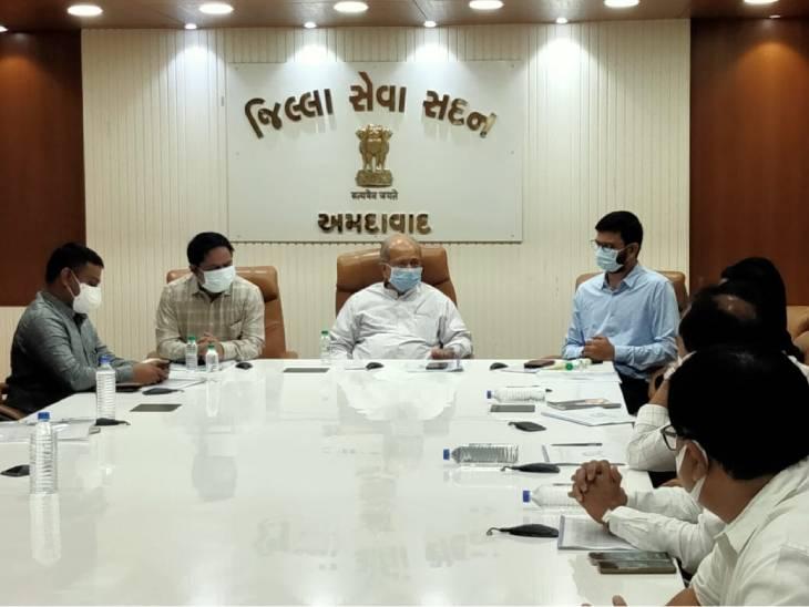 અમદાવાદમાં વડીલો અને બાળકોના સરવે પર ધ્યાન કેન્દ્રિત કરાશે,શિક્ષણ મંત્રીએ આરોગ્ય વિષયક તૈયારીઓની સમીક્ષા કરી|અમદાવાદ,Ahmedabad - Divya Bhaskar