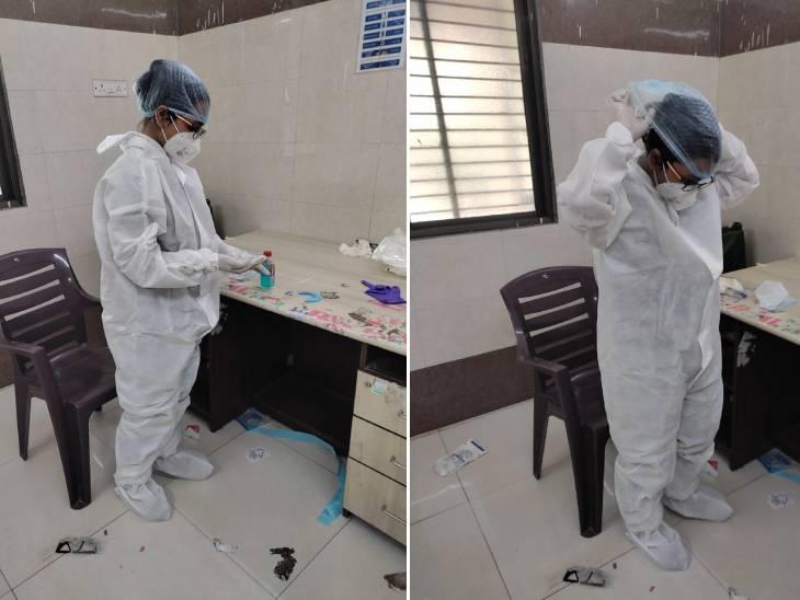 PPE કીટ પહેરવી અને ઉતારવી ચોકસાઈ માંગતી પ્રક્રિયા છે