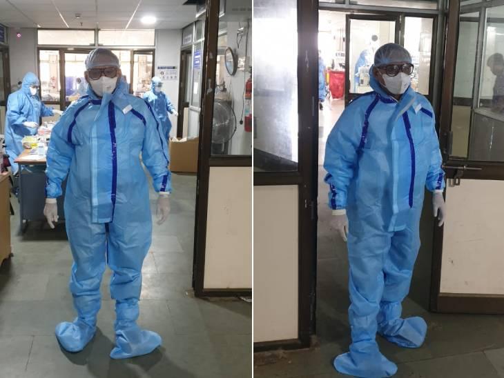 કોરોના કાળમાં લોકોને PPE કીટ નવા શબ્દ તરીકે પ્રચલિત - Divya Bhaskar