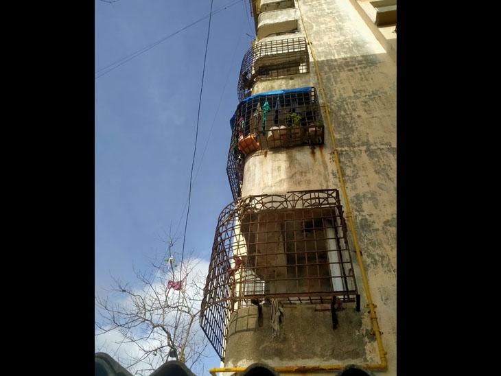 સિટી સ્કવેર એપાર્ટમેન્ટના 6ઠ્ઠા માળેથી નીચે પટકાયેલી મહિલાનું મોત નવસારી,Navsari - Divya Bhaskar