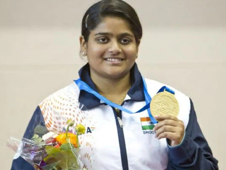 રાહી સરનોબતે વર્લ્ડ શૂટિંગ ચેમ્પિયનશિપમાં 2 મેડલ જીત્યા (ફાઇલ ફોટો) - Divya Bhaskar