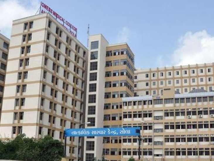 સોલા સિવિલ હોસ્પિટલની ફાઈલ તસવીર - Divya Bhaskar