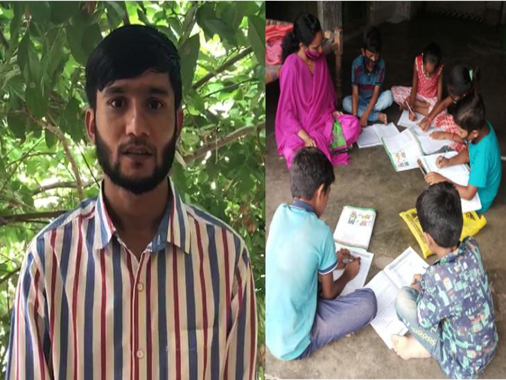 રાજકોટના ગ્રામ્ય વિસ્તારોમાં ઓફલાઈન શિક્ષણ શરૂ, NSUIના પ્રમુખે કહ્યું- વિદ્યાર્થીઓનુ સ્વાસ્થ્ય ન જોખમાય તેની પણ કાળજી લેવી અનિવાર્ય|રાજકોટ,Rajkot - Divya Bhaskar