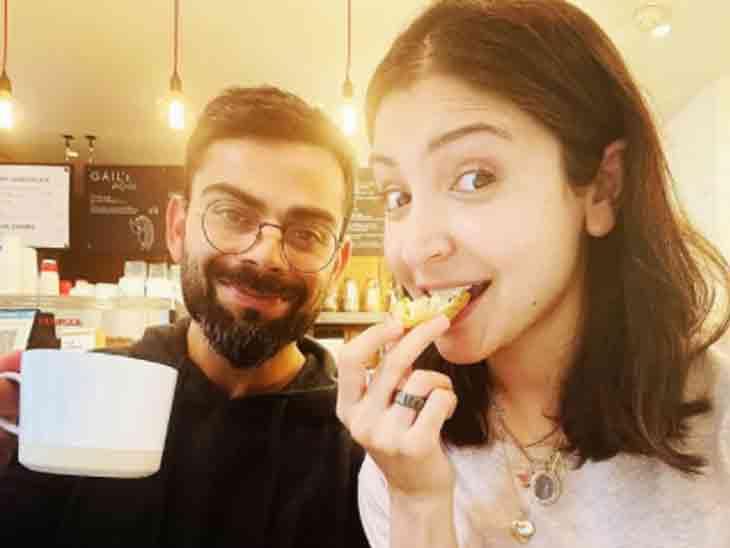 અનુષ્કાએ પતિ વિરાટ સાથે બ્રેકફાસ્ટ કર્યો, કહ્યું- જ્યારે જલ્દીથી નાસ્તો મળી જાય બોલિવૂડ,Bollywood - Divya Bhaskar