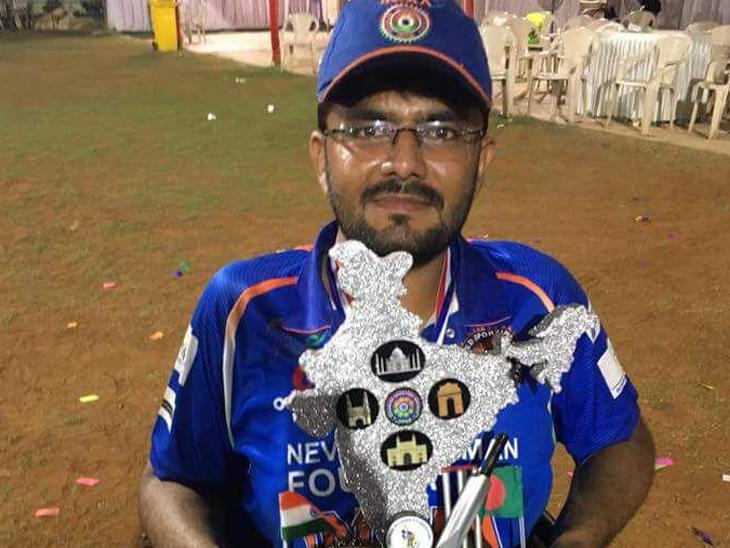 ઝાલાવાડના ઇન્ટરનેશનલ વ્હિલચેર ક્રિકેટરે અનેક સિદ્ધિઓ મેળવી છે. - Divya Bhaskar