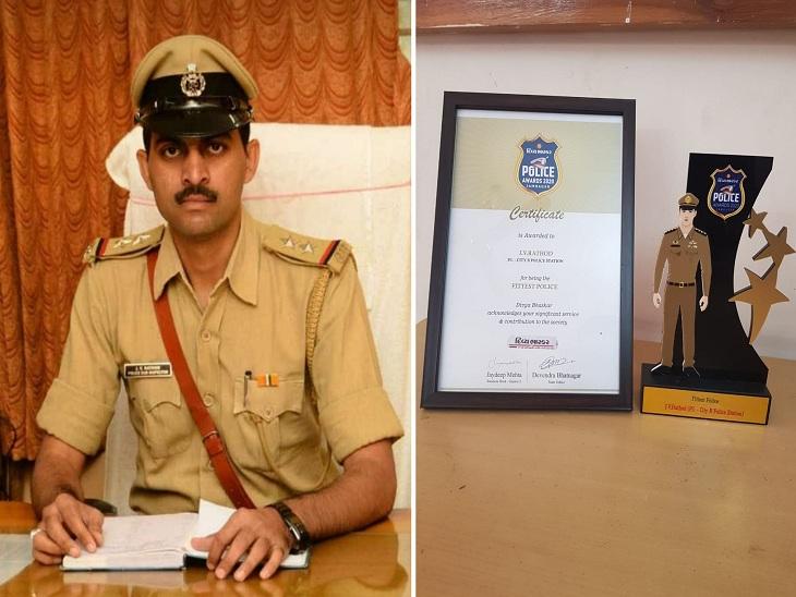 પોલીસ ઈન્સ્પેક્ટર જયદિપસિંહ રાઠોડ - Divya Bhaskar